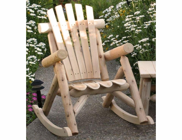 Log Style Rocking Chair - Available Middle of June