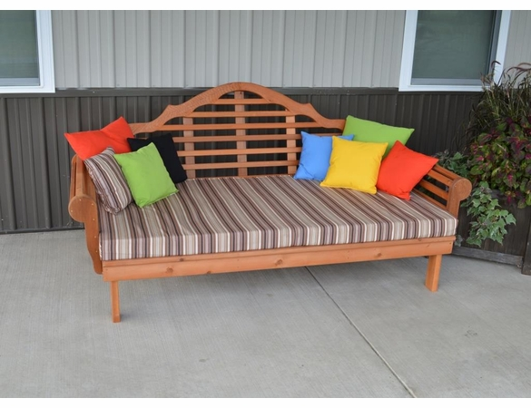 Marlboro Daybed 4', 5' or 6'<br>(Available in Cedar or Pine)