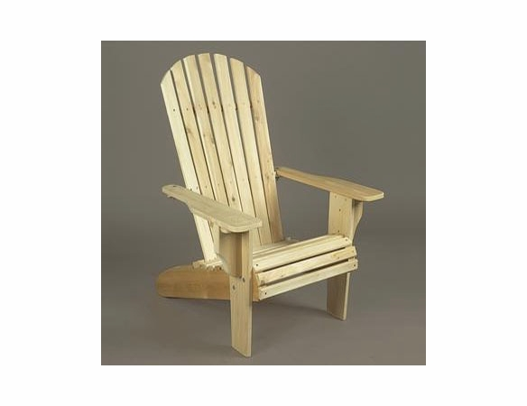Oversized Cedar Adirondack Chair - Not Currently Available