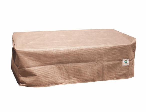 """Patio Ottoman or Side Table Cover - 52""""L X 30""""W - Duck Covers Elite"""