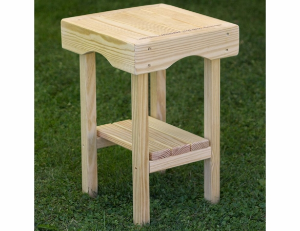 Pine Square End Table