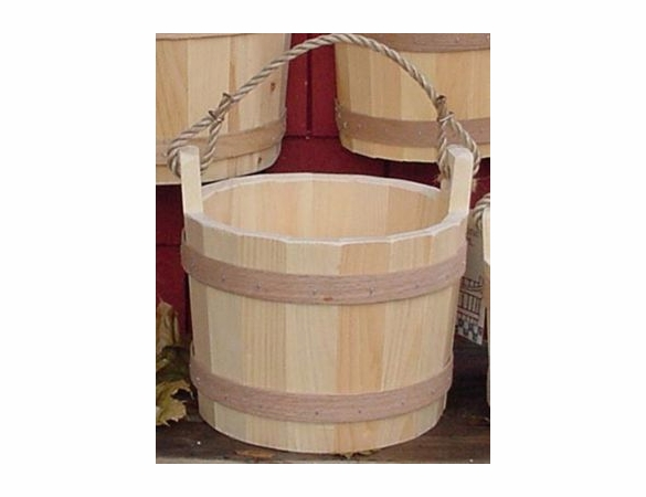 Pine Wood Old Fashioned Bucket