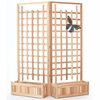 Planter Set with Trellis Screen Kit - Available to Ship End of July