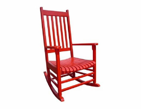 Red Somers Pointe Rocking Chair