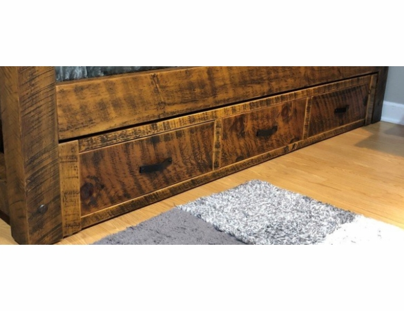 Richmond Rough Sawn Cathedral Style Bed