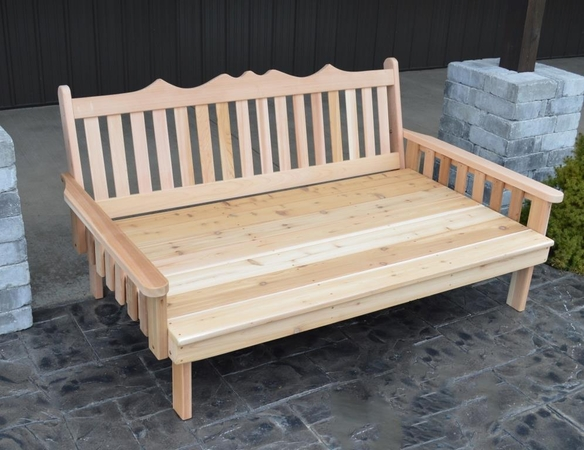 Royal English Daybed 4', 5' or 6'<br>(Available in Cedar or Pine)