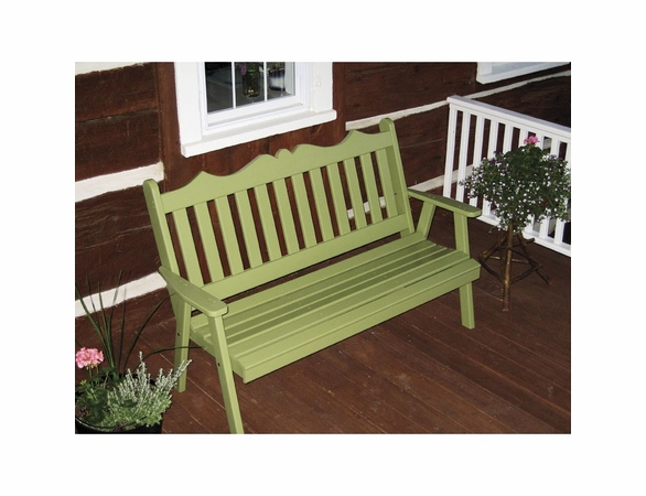 Royal English Garden Bench 4', 5' or 6'