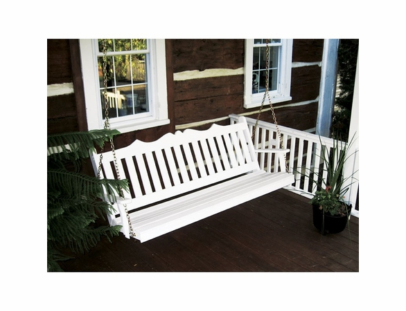 Royal English Garden Swing 4', 5', or 6'<br>(Available in Cedar or Pine)