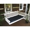 Royal English Garden Swing Bed 6'<br>(Available in Cedar or Pine)