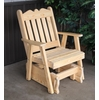 Royal English Glider Chair<br>(Available in Cedar or Pine)
