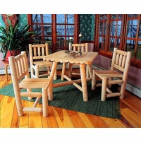Rustic Cedar Dining Sets