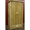 Rustic Log Style Armoire