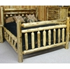 Rustic Log Style Big Daddy Bed