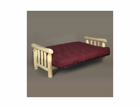 Rustic Log Style Cedar Futon Frame - Not Currently Available