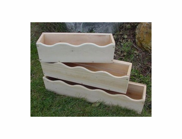 Scalloped Window Box Planter - Currently Out of Stock