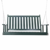 Solid Ash Porch Swing - 4' or 5' - Color Options