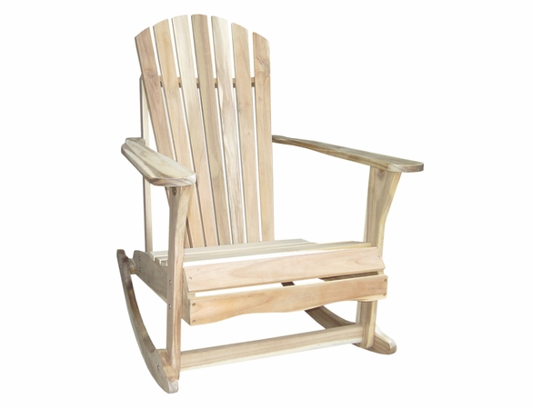 Somers Pointe Unfinished Adirondack Rocker - Soon to be Discontinued