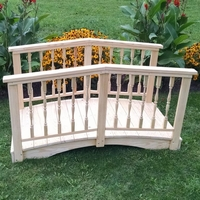 Spindle Garden Bridge - 4', 6', 8', 10' or 12' Long