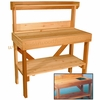 Sturdy Western Red Cedar Potting Table: Super Deal