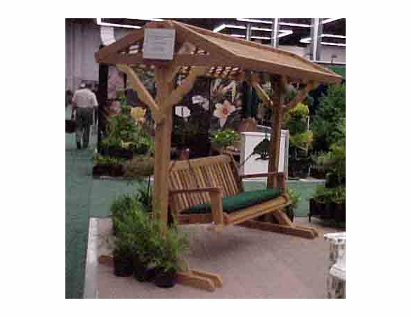 Swing Yard Frame with Roof - 2 sizes
