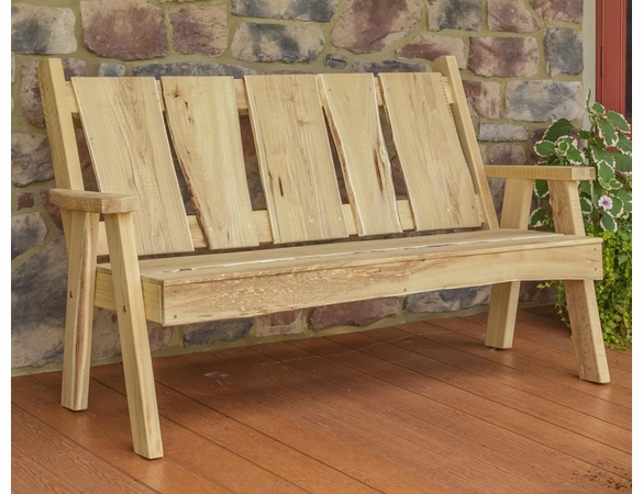 Timberland Garden Bench<br>(Available in 4', 5' or 6')