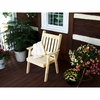Traditional English Dining Chair<br>(Available in Cedar or Pine)