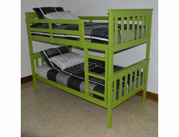 Twin Size Mission Bunk Bed Frame