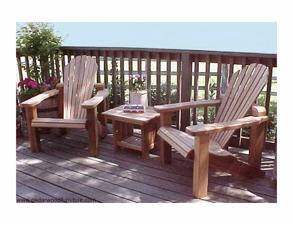 Villa King Cedar Adirondack Chair
