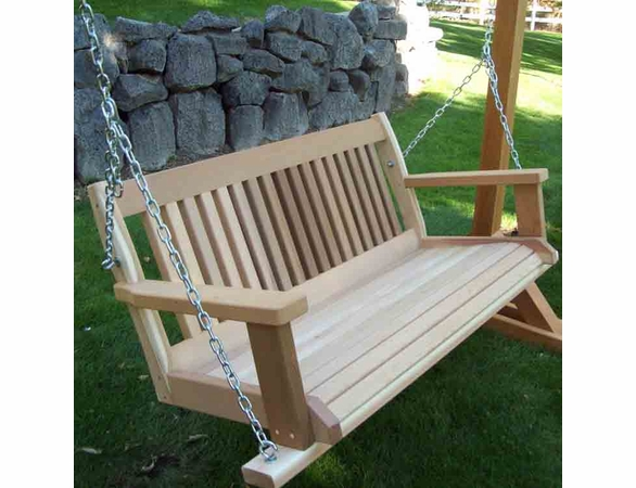 Villa Porch Swing - 4' & 5' Options