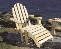 Heavy Duty Sun Lounger, Wood Adirondack Chairs Ottomans Kits And Sets