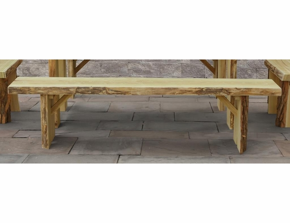 Wildwood Locust Bench Only<br> (Available in 2',3',4', 5', 6', or 8')