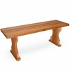 Wooden 4 Ft Backless Bench Kit
