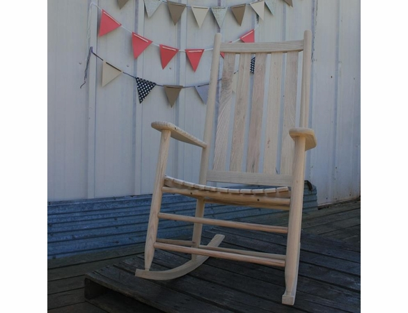 Wooden Rocking Chair  – Color Options