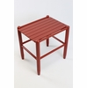 Wooden Side Table - Color Options