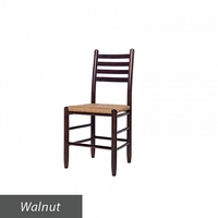 Wooden Simple Ladder Back Chair – Color Options