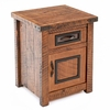 Woodman Rough Sawn Enclosed Nightstand