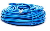 BattleBorn 200 Foot Cat6 Ethernet Network Lan Patch Cable Cord 550 Mhz Rj45 Gigabit - Blue