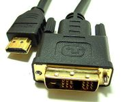 BattleBorn 3 Foot HDMI to DVI-D Male-to-Male Adapter Cable