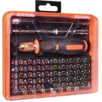 BattleBorn 53-Piece Screwdriver Tool Kit W/ Assorted Bits & Tweezers