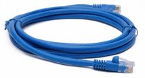 BattleBorn 6 foot Cat6a Ethernet UTP RJ45 Patch Cable (BLUE)