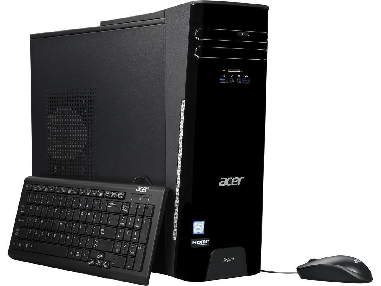 Acer Desktop Pc Aspire T Tc 780 Ur11 I7 7700 3 60 Ghz 8gb