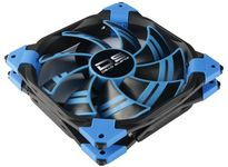 AeroCool DS-120mm Blue Dual layered blades with low noise frame