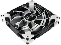 AeroCool DS-120mm White Dual layered blades with Noise Reduction