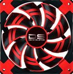 AeroCool DS-140mm Low Noise and Shock Red Dual Layered Blades Case Fan