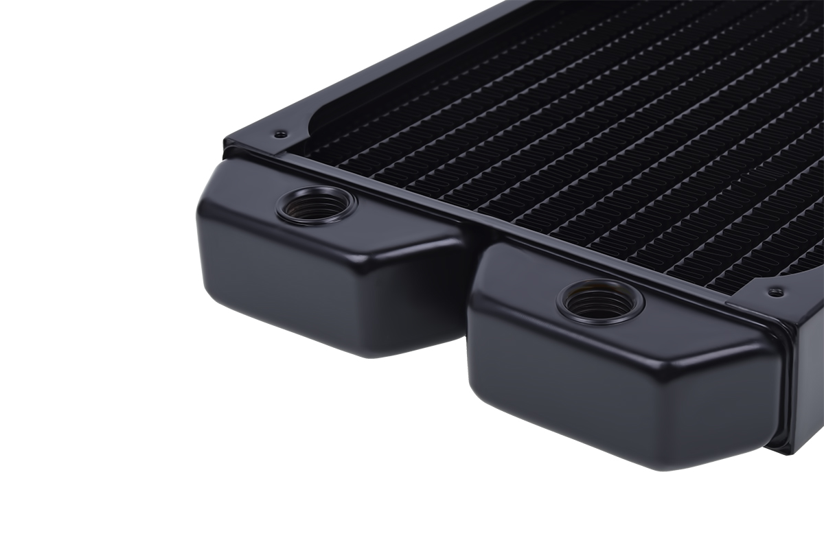 Computers & Accessories Alphacool 14198 NexXxoS ST30 Full Copper 420mm Radiator Water Cooling Radiators