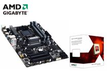 AMD FX-6300 Six-Core and Gigabyte GA-970A-DS3P Motherboard CPU Combo
