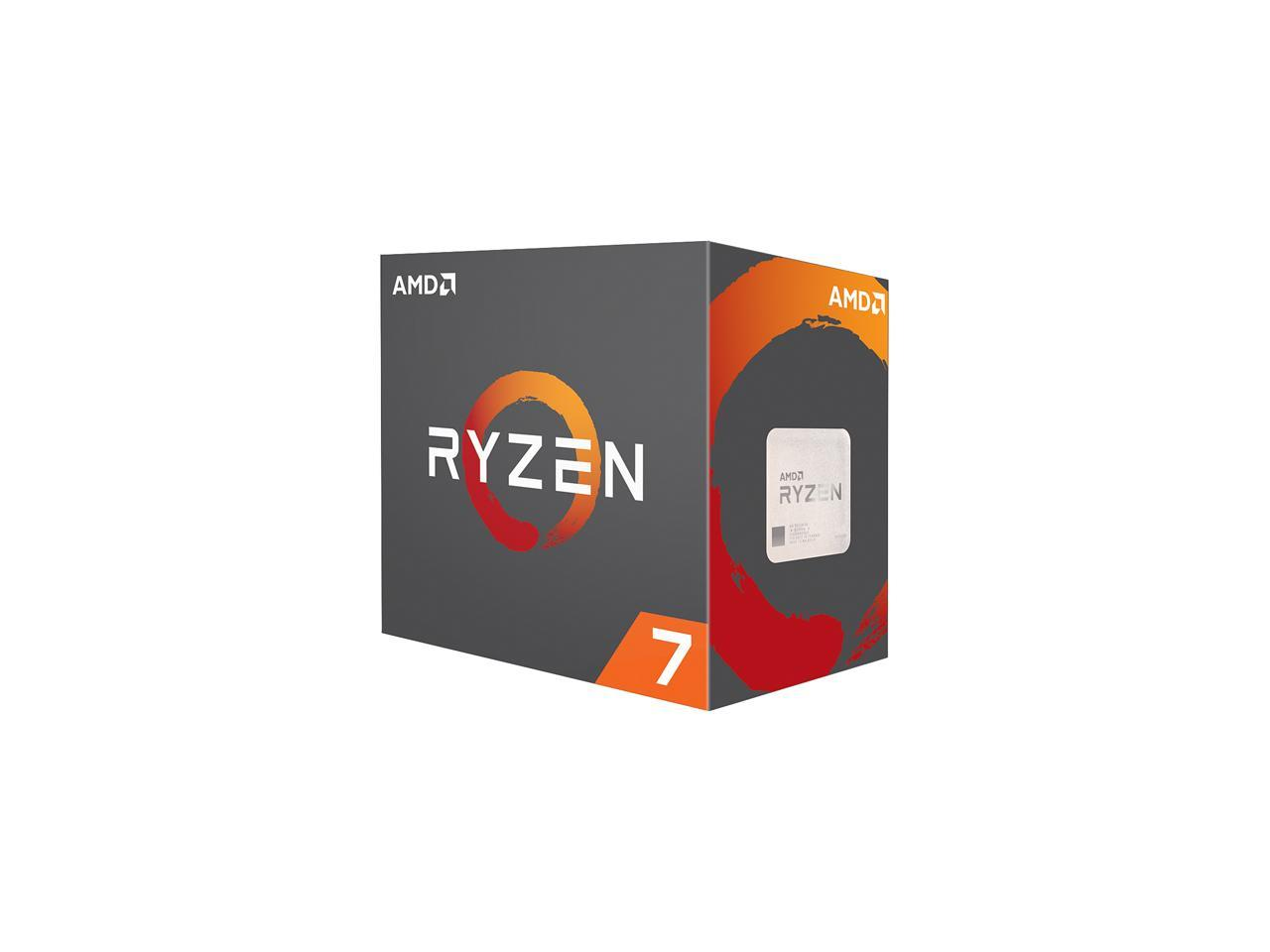 AMD RYZEN 7 1800X 8-Core 3 6 GHz (4 0 GHz Turbo Socket AM4 95W  YD180XBCAEWOF Desktop Processor