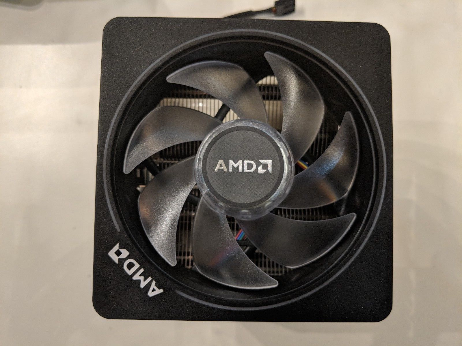 Amd Wraith Prism Led Rgb Cooler Fan 4pin Connector Copper