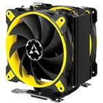 Arctic Freezer 33 eSports Edition CPU Cooler with 2 Bionix Coolers in Push Pull Configuration Black/Yellow