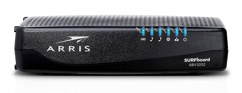 ARRIS Surfboard (32x8 Docsis 3 0 Cable Modem for Xfinity Internet & Voice  (SBV3202